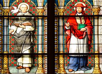Kirchenfenster im Kölner Dom