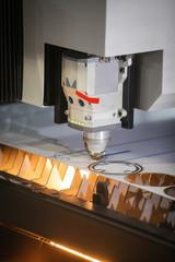 Laser cutting metal