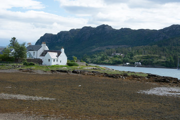 Hillside and Scottish Houses