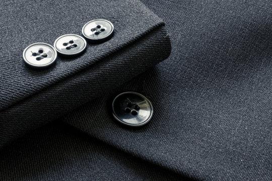 Business suit buttons