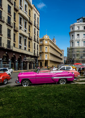 Vintage Car - Havana, Cuba