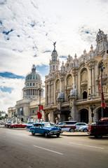 Great Theater (Gran Teatro) and Capitolio - Havana, Cuba
