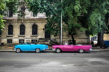 Vintage Cars - Havana, Cuba
