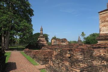 Sukhothai historical park, Wat Mahathat, Unesco world heritage, Sukhothai Thailand