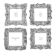 Sketch Art frame decorative