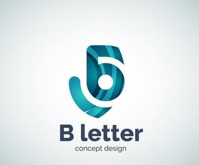 Vector letter concept logo template