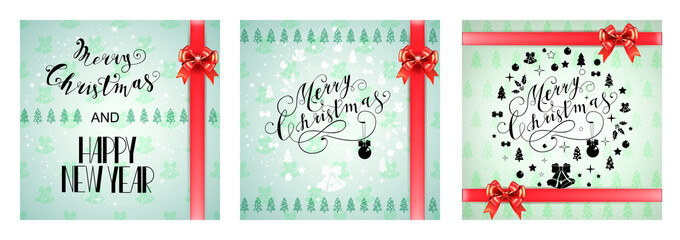 Lettering Merry Christmas