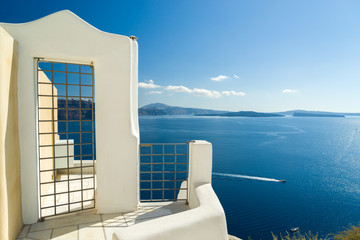 Door of Santorini island