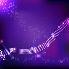 Musical wind.