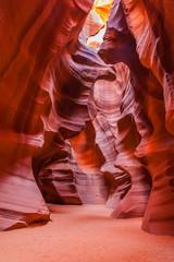 Photo sur Aluminium Rouge mauve Antelope Canyon Arizona