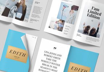 Magazine Page Mockup