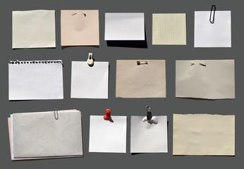 Viele Zettel