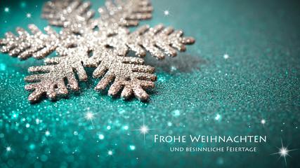 Hintergrund Weihnachten - grün