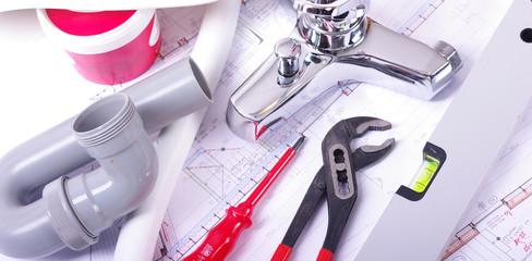 Sanitär-arbeiten, Werkzeug