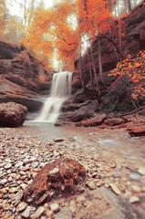 Waterfall in Scheidegg