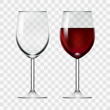 Big Reds Wine And Empty Glass