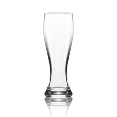 Empty Traditional Beer Glass