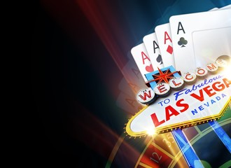 Poker Las Vegas Background