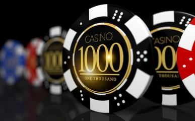 Poker Roulette Game Chips
