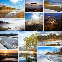 Seasons - Spring on the River Ob