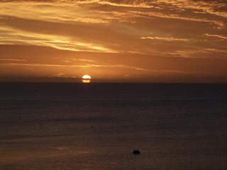 Morgendämmerung über der Ostsee