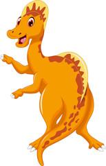 funny dinosaur posing