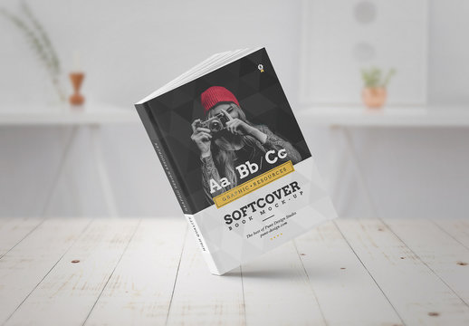 Softcover Book Mockup Set