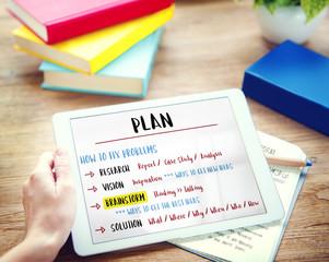Plan Creativity Innovation Brainstorm Concept