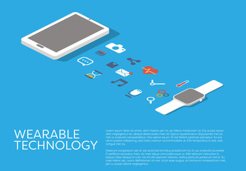Wearable Technology Illustration