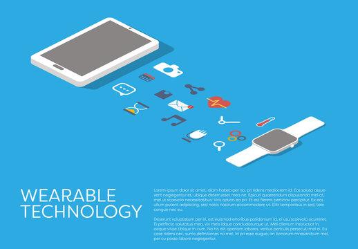 Wearable Technology Illustration