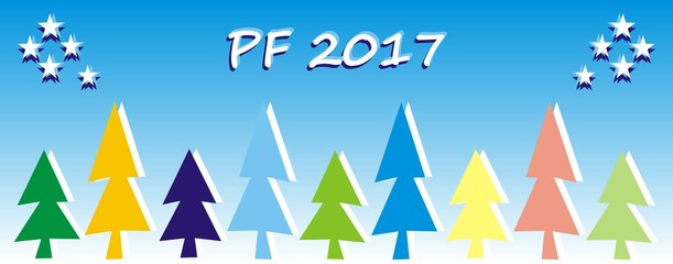 PF 2017, colorful trees
