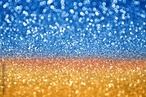 quotabstract glitz and glam blue gold sparkle background for