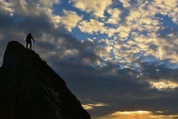 Tehlikeli Zirve tırmanışı