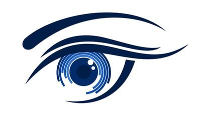 Logo female eye.