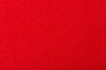 Abstract background with red felt.