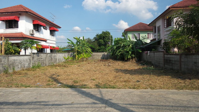Vacant land of village in Thailand