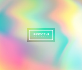 Fluid iridescent multicolored background.