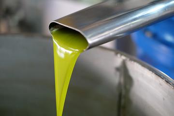 Spremitura delle olive in frantoio