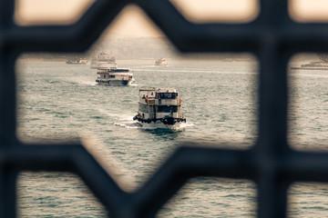 Vessel transport people