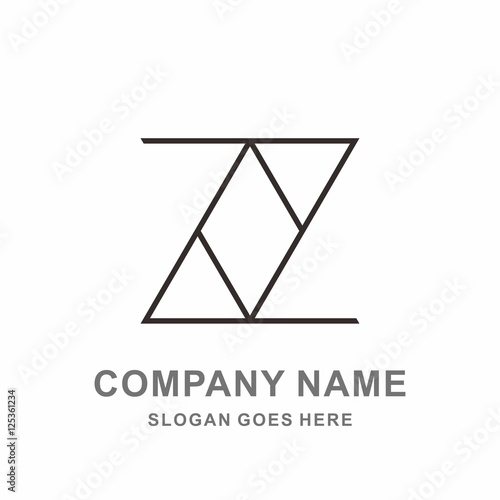 Monogram letter z geometric outline triangle business company stock monogram letter z geometric outline triangle business company stock vector logo design template spiritdancerdesigns Image collections
