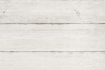 Wood Background, White Wooden Grain Texture, Old Striped Planks