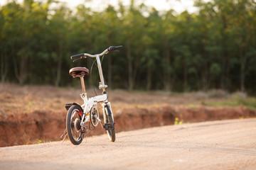 Vintage bicycle detail