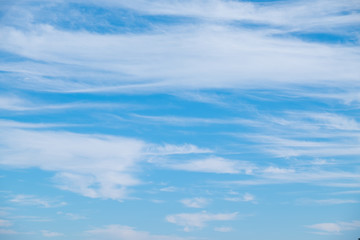 Blue sky and cloud for background.