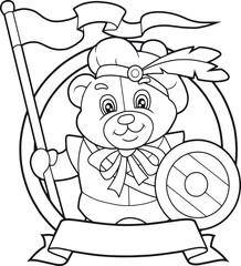 teddy bear Knight
