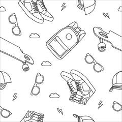 Pattern Skateboard