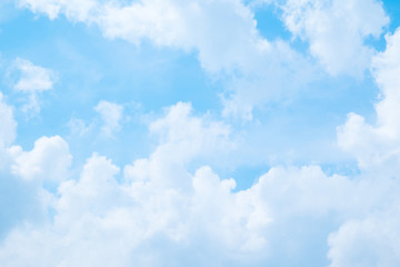 Beautiful Blue sky and cloud for background. Fototapete