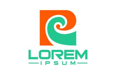logo letter r