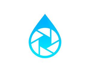 Water Photo Logo Design Template Element