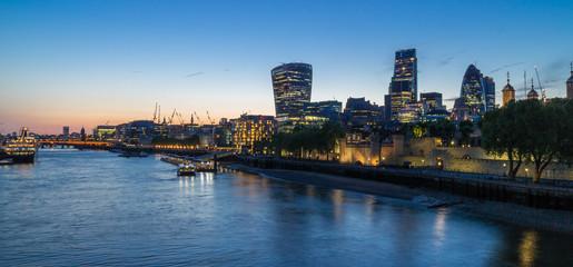 River Thames Skyline