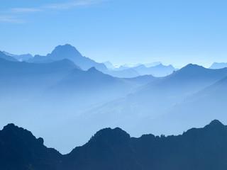 Widderstein, Blick vom Nebelhorn, Herbst